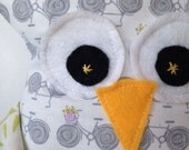 Wheelie the plush owl