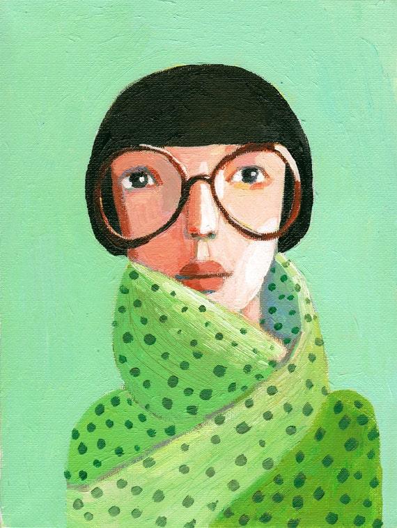 Woman portrait PRINT