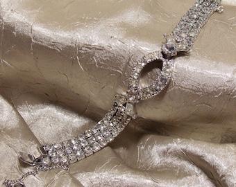 Vintage Rhinestone Sarah Coventry Bracelet
