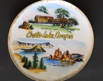 Crater Lake Oregon Souvenir Plate