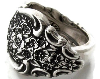 Spoon Ring (All Sizes) Silver Renaissance
