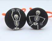 Day of the Dead...... Skeleton Ponytail Holders