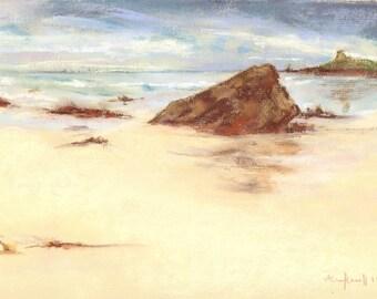 Pastel Beach Print