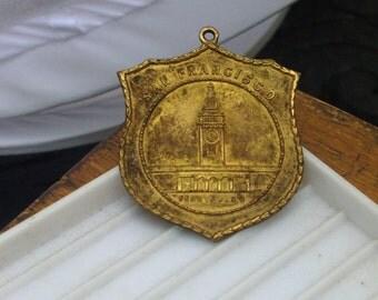 Historic San Francisco FERRY building medal