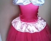 Sleeping Beauty Aurora tutu dress up set sizes newborn 2t 3t 4t 5t 6 girls