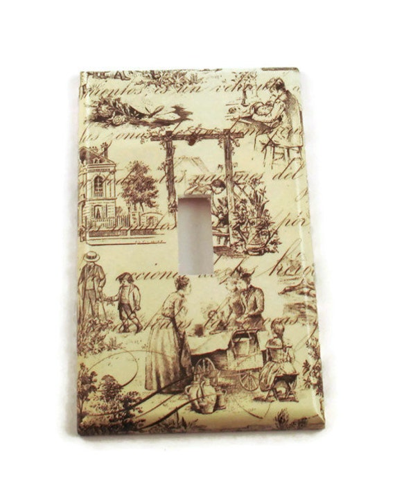 Decorative Wall Light Covers : Light switch cover wall decor switchplate plate