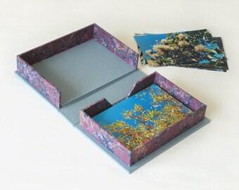 SALE - 4x6 Photo Album Box - Holds 100 Photos - Archival Photo Box - Ready to Ship