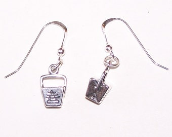 Sterling Silver  3D CHINESE TAKE OUT  Earrings -  Food, Fun, Restaurant, Date