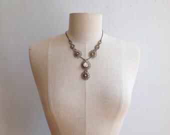 Vintage Wirework Necklace.