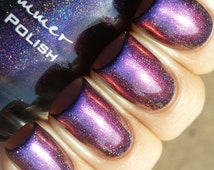 Myth You Lots Multichrome Holographic Color Shifting Nail Polish-  0.5 oz Full Sized Bottle