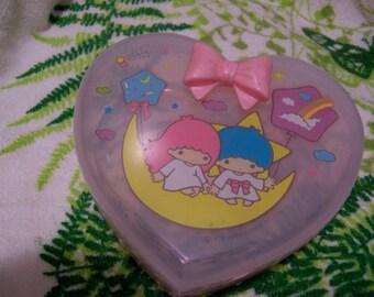 sanrio plastic heart box