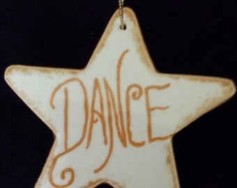 Star Shaped Dance Ornaments