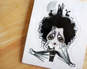 Sweet Edward Die Cut Vinyl Sticker Decal