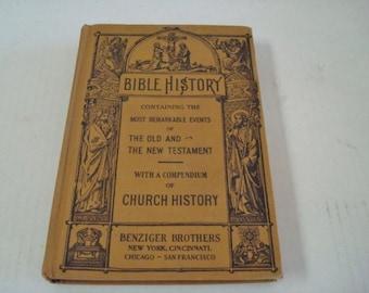 Bible History 1936