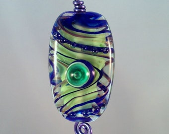 Lampwork Glass Bead by Rimma