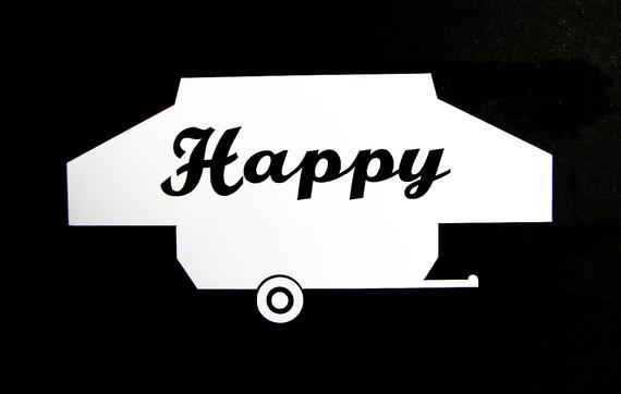 Pop up autocollant de fen tre de campeur heureux par for Bloqueur de fenetre pop up