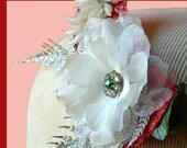 40% OFF SALE Candy Ava Rockabilly Burlesque Hair Clip Fascinator