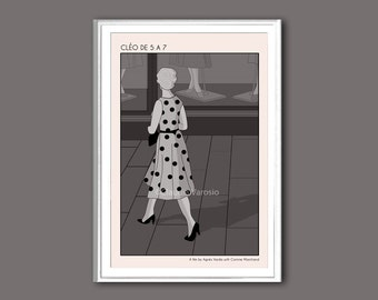 Cléo de 5 à 7, or Cléo from 5 to 7, movie poster in various sizes