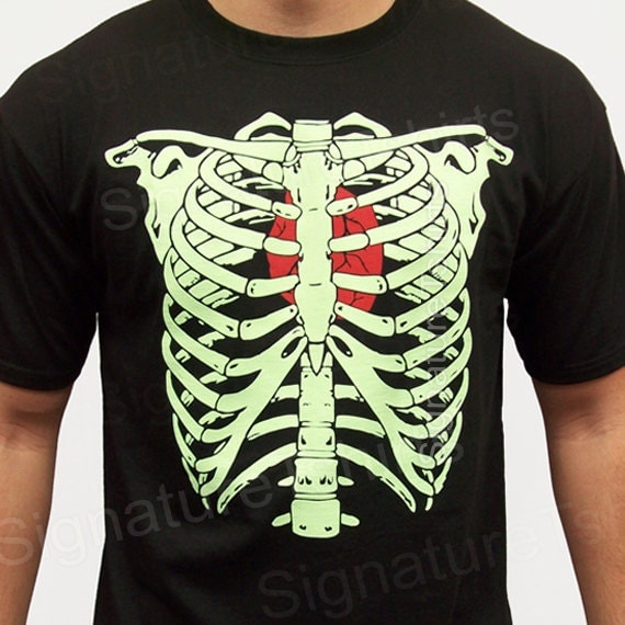 Items similar to Halloween Skeleton Shirt, Halloween ...