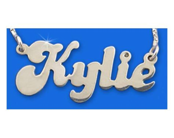 Personalized Name Necklace - Sterling Silver - choose from 5 styles