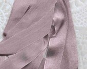 Mauve 13mm - 1/2 inch wide Silk Ribbon 3 yards