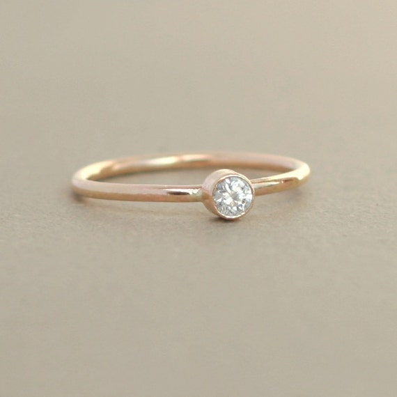gold ring engagement ring birthstone ring one