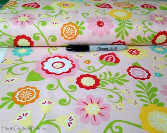 Simply Sweet Main Floral in Pink C3460 by Lori Whitlock for Riley Blake Fabrics 1/2 yard