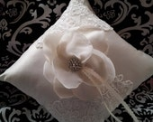 Magaret Ring Bearer Pillow