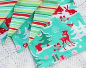 Set of 4 Reversible Cloth Napkins - veryverdant