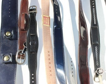Vintage Watchband Collection New Old Stock New Dead Stock 1970s Seventies 1970's NOS Old Watchmaking Supplies Replacement  Band Grosgrain
