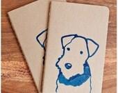 Terrier Moleskine Notebook Dog Journal Dog Notebook Terrier Notepad Dog Stationery Journal Cahier Moleskin Gocco