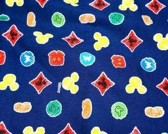 Disney licensed Disney Cartoon Mickey Mouse Japanese fabric
