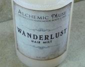 Wanderlust - Hair Mist - Detangler & Styling Primer - Orange Blossom, Red Fig, Dampened Wood