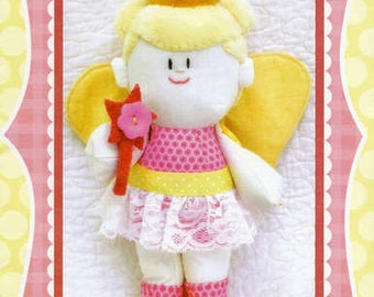 Clearance PATTERN Lil Girls FIONA the Fairy PRINCESS doll