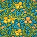 William Morris Iris on mono deluxe Needlepoint Canvas