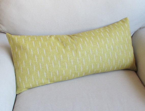 Items similar to SAFFRON large bolster decorative pillow 13x26 with insert on Etsy
