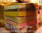 SOAP - Soap Samples - Christmas Gift - Assorted Soap - Soap Gift - - Soap Ends - Vegan Soap