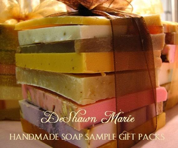 SALE Soap Samples - Assorted Soap - Soap Gift - Soap Ends - Vegan Soap - Soap Set