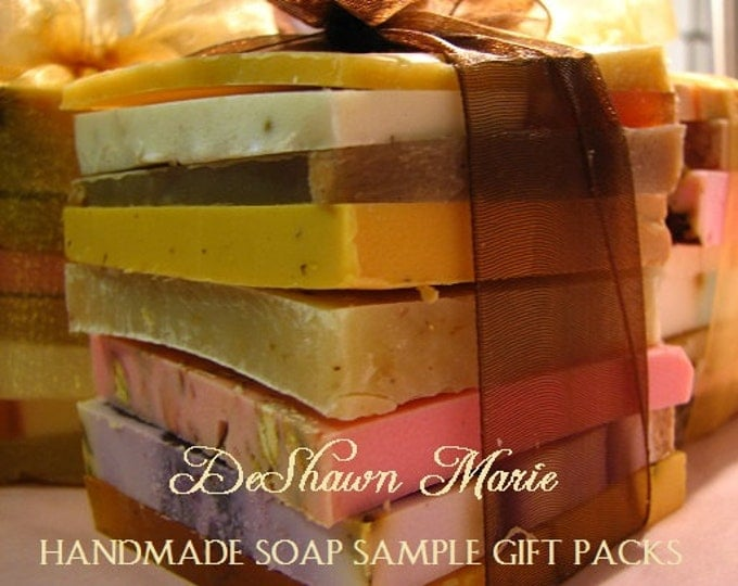 SOAP - Soap Samples - Assorted Soap - Soap Gift - Soap Ends - Vegan Soap - Soap Set