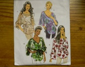 Uncut Butterick Pattern 5355 Size Xsm-Med Very Easy Top and Sash