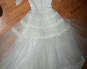 Reserved for hesben1410 1950s 2 Wedding Gowns