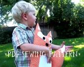 PDF Sewing Pattern Fox Stuffed Animal