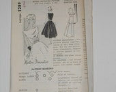 Vintage 50s 60s Party Dress Pattern Designer Martini Diminutive Spadea 1289 Size 12 Bust 35 UNCUT
