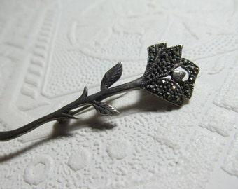 A  Single  Silver  Rose
