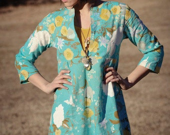 The Schoolhouse Tunic , Paper Pattern by Sew Liberated