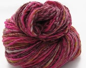 Handspun yarn, 225 yds, worsted weight singles, 'Glam'