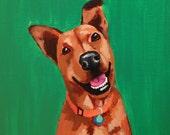 8x8 Custom Pet Portrait
