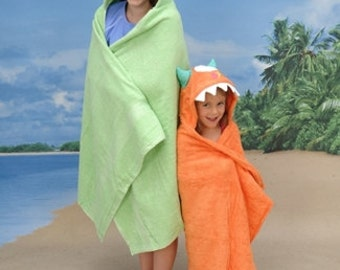 Handmade ADULT Monster hooded towel