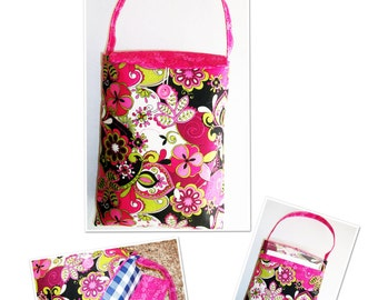 Portable Design Wall Bag with Pattern Pocket pdf Pattern