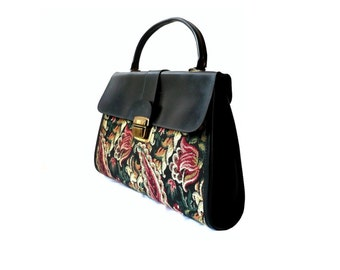 DONNA French Vintage 60 Tapestry Handbag